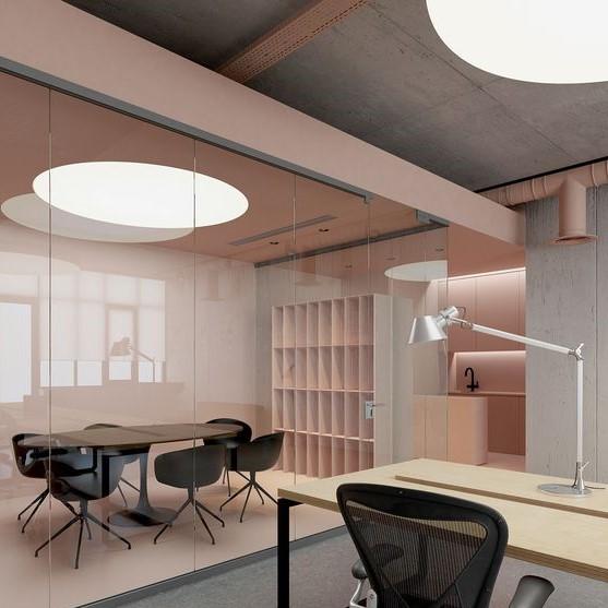 iluminar oficinas